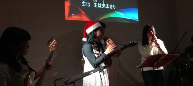 青年クリスマス会 LIVE &NABE