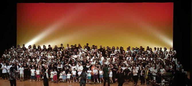 ゴスペル合同コンサートが行われました