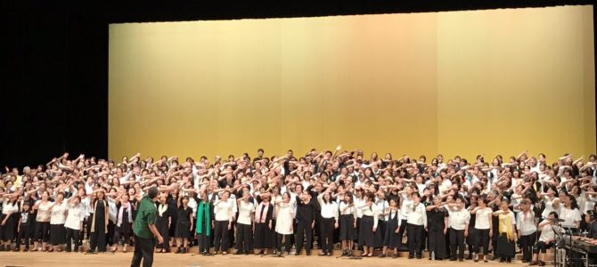 6/29 ゴスペル合同コンサート出演しました!